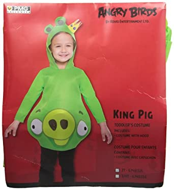 Angry Birds Green Pig Costume - 2T