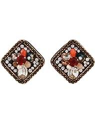 Fancy Design Multi Color Earrings For Womens
