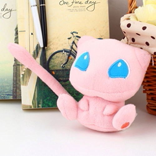12cm Pokemon Nintendo Rare Mew Plush Soft Stuffed Doll Toy by HiRudolph