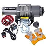 Car Truck Remote 4000 Electric Winch...