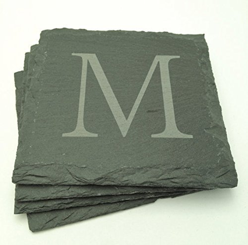 Custom Slate Coasters - Set of Four