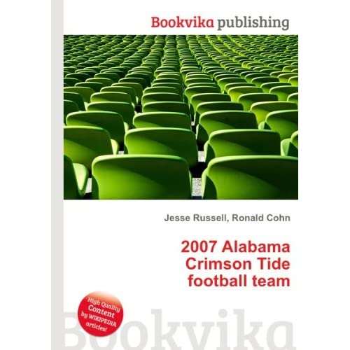 2007 Alabama Crimson Tide football team Ronald Cohn Jesse