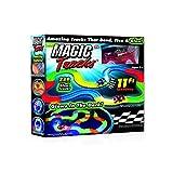 Magic Tracks with bonus glow in the dark stick and hot wheels car