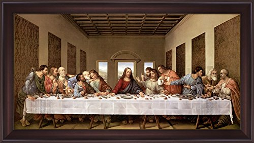 The Last Supper (Painting) painted by Leonardo da Vinci