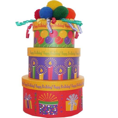 Happy Birthday Gift Tower By Gourmetgiftbaskets Com: 60TH BIRTHDAY CAKE IDEAS