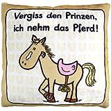 Sheepworld 42384 Plüschkissen Pferd