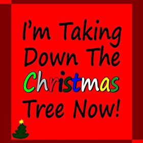 i 39 m taking down the christmas tree now sandy and steve musica digitale. Black Bedroom Furniture Sets. Home Design Ideas