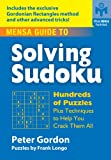 img - for Mensa Guide to Solving Sudoku: Hundreds of Puzzles Plus Techniques to Help You Crack Them All book / textbook / text book