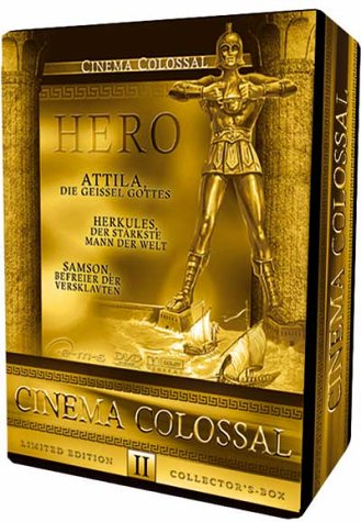 Cinema Colossal Box II - HERO (Ltd. Collector's Edition - 3 DVDs) [Limited Edition]