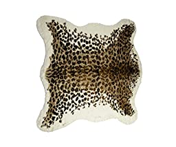Luxe FAUX COWHIDE RUG/THROW 4 1/4\