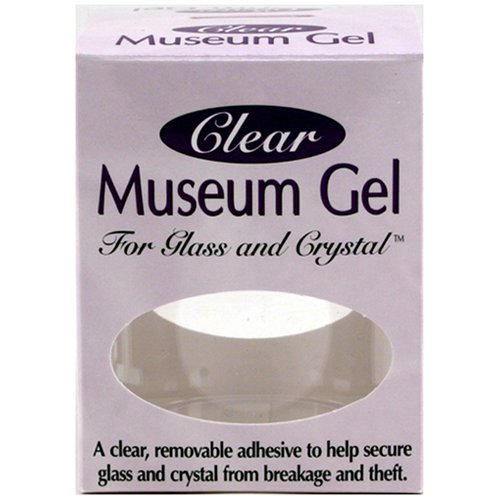 Quakehold! 33111 Museum Gel, Clear