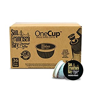 San Francisco Bay OneCup, French Roast, 36 Single Serve Coffees