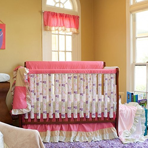 "Go Mama Go Designs WildThing Teething Guard, Pink, 52"" x 12"""