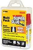 Super Glue The Original Super Glue 15187, .07 Ounce, 12-pack