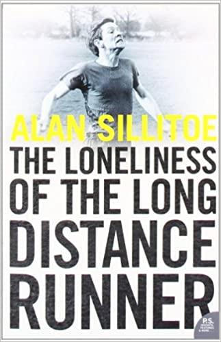 Book cover for The loneliness of the long-distance runner.