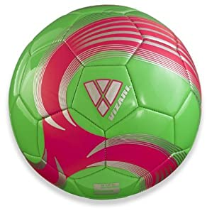 Vizari Vortex Soccer Ball, Neon Green,  1