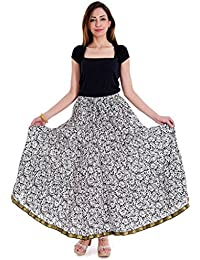 Shop Hatke Now Latest 2017 Jaipuri Floral And Leafy Print Design Pure Cotton Skirt 145