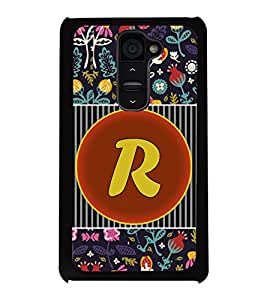 PrintVisa Metal Printed Alphabet Designer Back Case Cover for LG G2-D4802