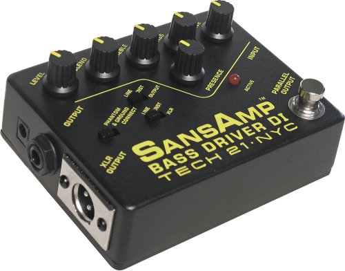 Tech 21 BSDR SansAmp Bass Driver DI