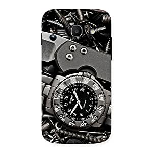 Premium Knife And Watch Back Case Cover for Galaxy Ace 3