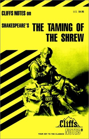 Image for The Taming of the Shrew (Cliffs Notes)