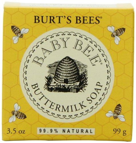 Burt's Bees Baby Bee Buttermilk Soap, 3.5-Ounce Packages (Pack of 3) image