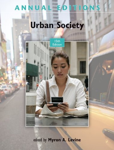 Annual Editions: Urban Society