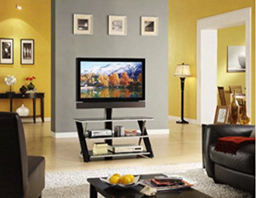 "Modern Tv Stand 3 in 1 Flat Panel Television up to 50"" Media"