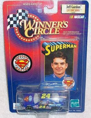 Jeff Gordon #24 Dupont Superman Monte Carlo 1/64 Scale Diecast 1999 Winners Circle Lifetime Series Issue # 5 of 8 - 1
