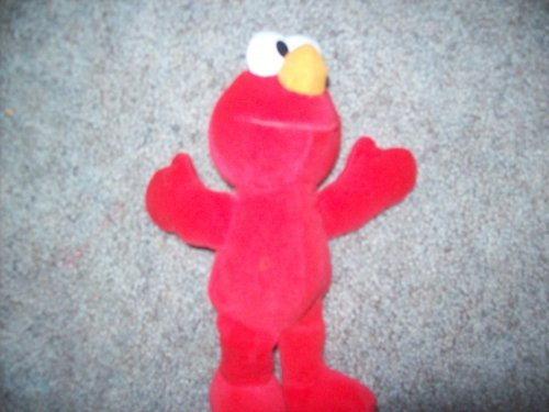 Tyco 123 Sesame Street Plush Doll, Elmo - 9 Inches - 1