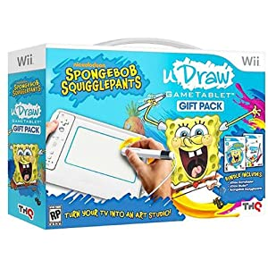 Buy Amazon.com: Spongebob U Draw Game Tablet Gift Pack For Wii [Toy
