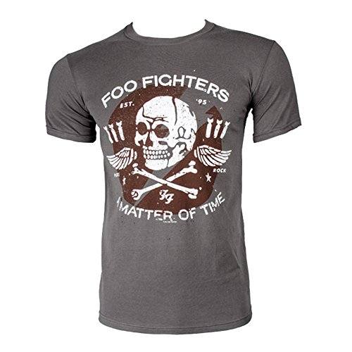 T Shirt Dei Foo Fighters Matter of Time (Grigio) - X-Large