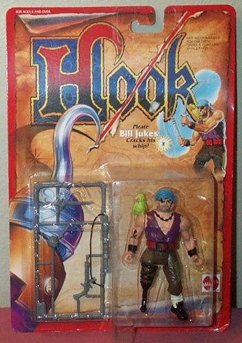Buy Low Price Mattel Hook The Movie Pirate Bill Jukes Figure (B000BVB192)