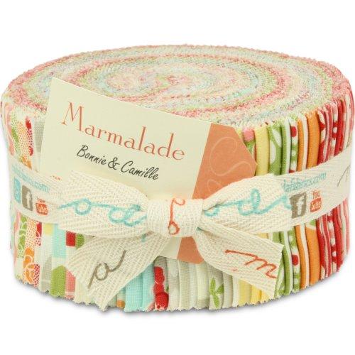 "Amazon.com: Moda Marmalade Jelly Roll 40 2.5""x44"" (6"