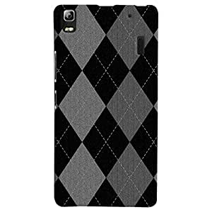 ColourCrust Lenovo A7000 Mobile Phone Back Cover With Argyle Pattern Style - Durable Matte Finish Hard Plastic Slim Case