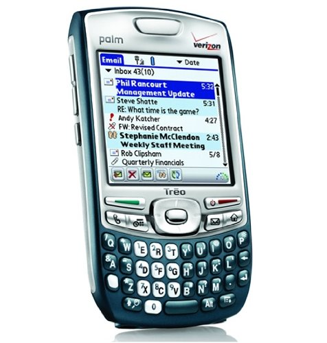 Palm Treo 755p PDA Smartphone Cell Phone in Mint Condition for Verizon Wireless With No Contract – Refurbished in Brand New Housing and 30 Days Seller's Warranty (Refurbished)