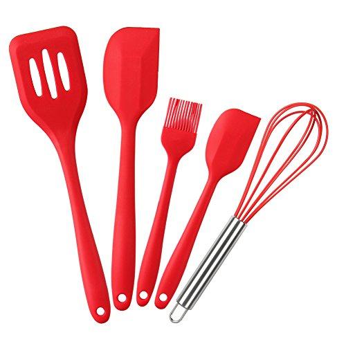 mftek-silicone-utensili-da-cucina-5-pezzi-2-spatole-pennelli-frusta-turner-100-silicone-alimentare-e