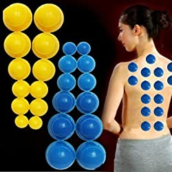 12pcs Mini Silicone Chinese Traditional Medical Cupping Cups -