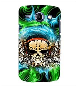 PrintDhaba Skull D-2942 Back Case Cover for SAMSUNG GALAXY MEGA 5.8 (Multi-Coloured)