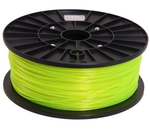 Signstek 1.75mm PLA Printing Filament 1kg/2.2lbs for 3D Printers Reprap, MakerBot, MakerGear, Replicator 2 - Fluorescence Yellow