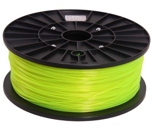 Signstek 1.75mm PLA Printing Filament 1kg/2.2lbs for 3D Printers Reprap, MakerBot, MakerGear, Replicator 2 - Fluorescence Yellow