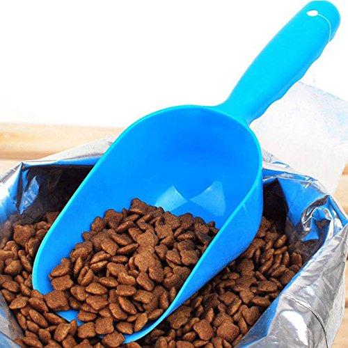 pecute-plastic-pet-dog-cat-food-scoop-shovel-feeder-random-color