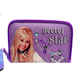 Hannah Montana Sectret Star Small Wallet,Hannah Montana Handbags also available!