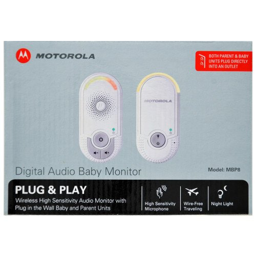 Baby Monitor Plug N Go front-64817