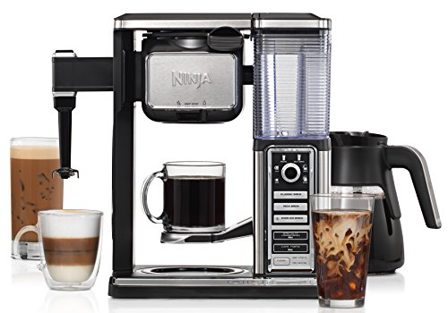 Ninja Coffee Bar Glass Carafe System (CF092) with Cookbook and Tumbler (Coffee Makers Glass compare prices)