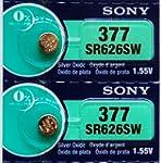 Sony 377 SR626SW SR66 V377 Silver Oxi...
