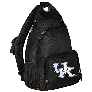 Backpack UK Wildcats Logo One Strap Backpacks for Travel or School ...