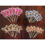 Pocoyo Cupcake Toppers Pocoyo Birthday Party Supplies SET OF 24
