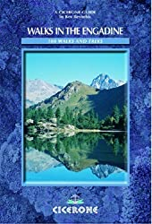 Walks in the Engadine - Switzerland: 100 Walks and Treks (Cicerone Mountain Walking) by Reynolds, Kev (2005) Paperback