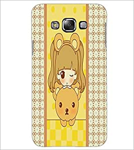PrintDhaba cartoon D-3824 Back Case Cover for SAMSUNG GALAXY A7 (Multi-Coloured)
